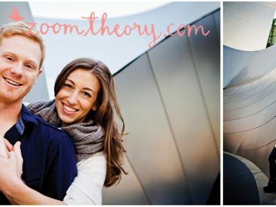 Casey+Stephanie | Walt Disney Concert Hall E-Session
