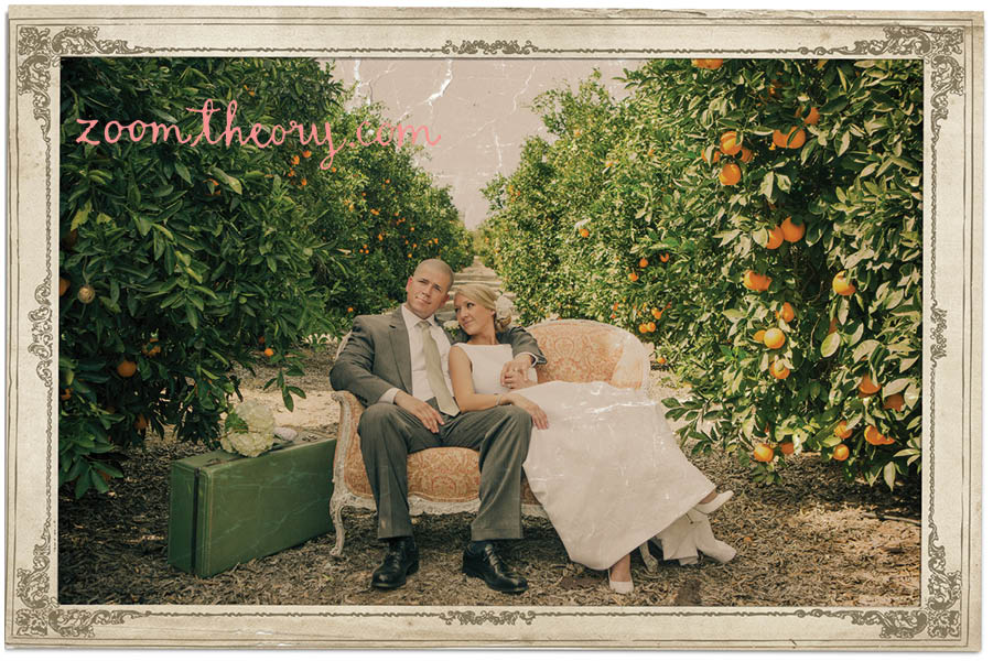 orange grove wedding 8