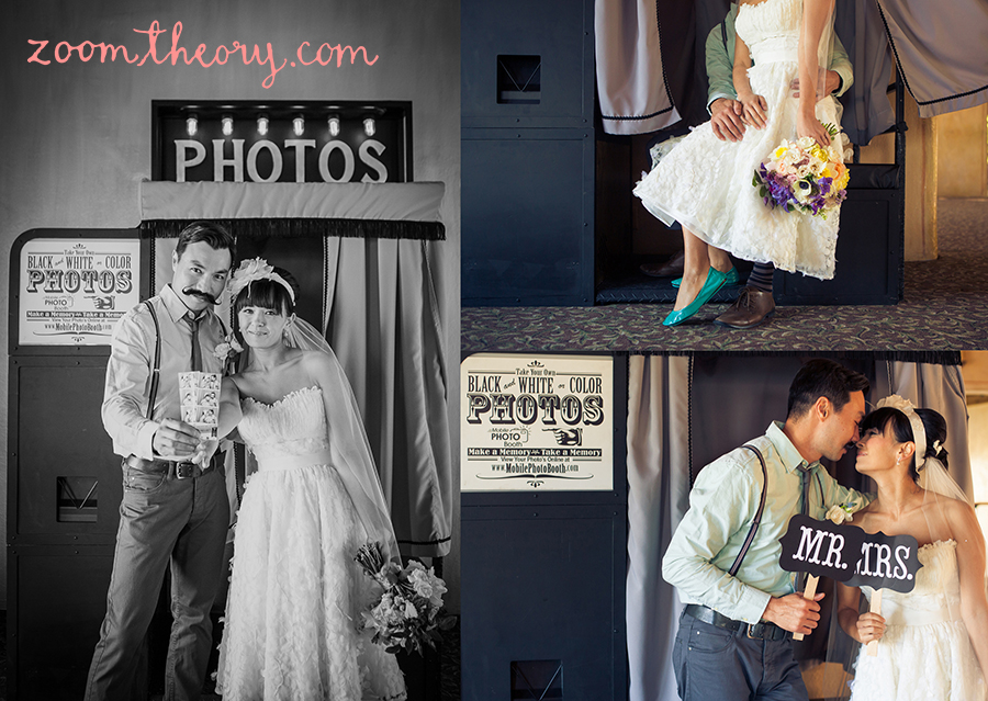 la venta mobile photo booth wedding 34