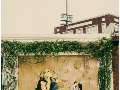 Street Art Engagement Downtown LA