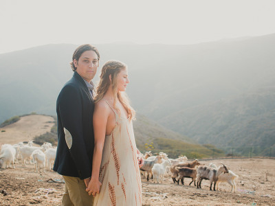Malibu Ranch Boho Engagement