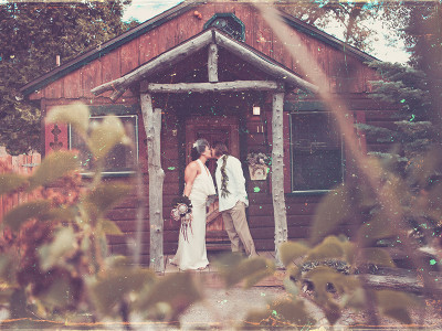 Lake Arrowhead Pine Rose Cabins Wedding