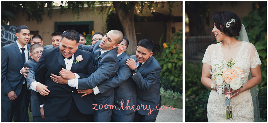 Los Angeles River and Garden Center Wedding