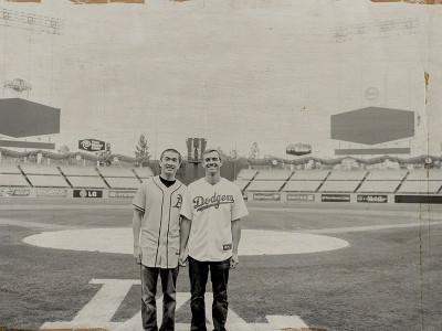 Dodgers Stadium Engagement Book