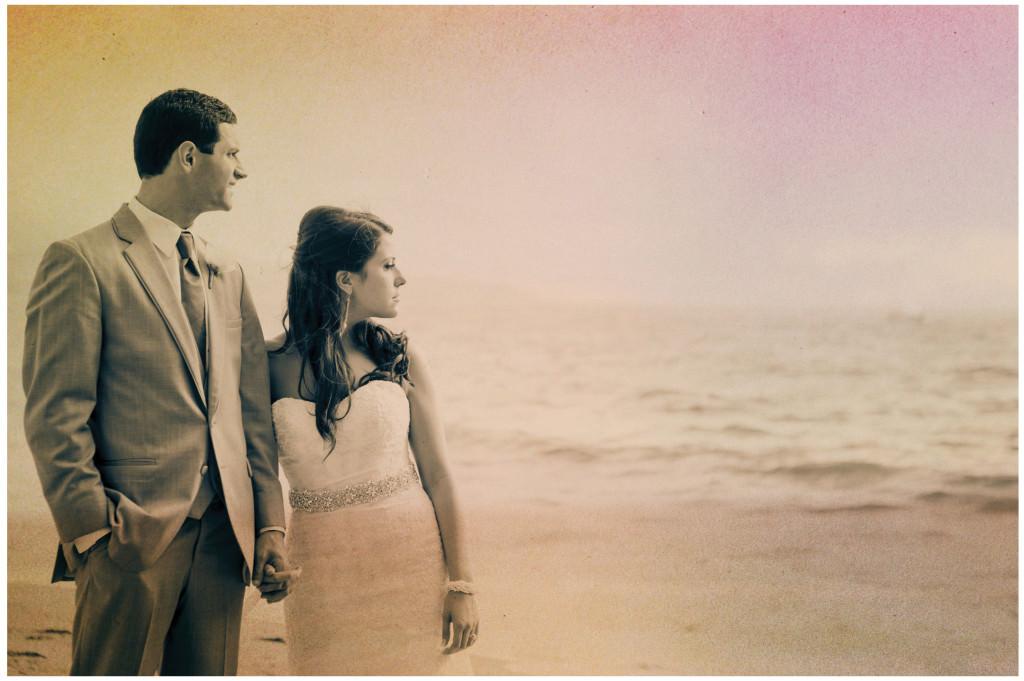 colorful beach portofino wedding 13