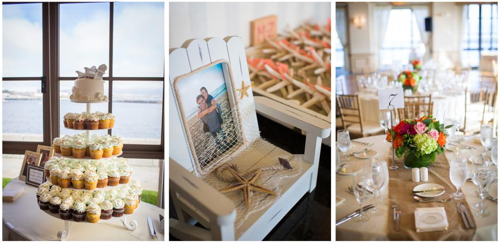 colorful beach portofino wedding 17