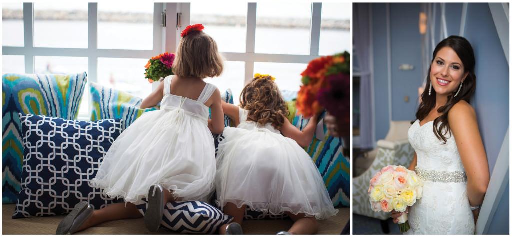 colorful beach portofino wedding 3
