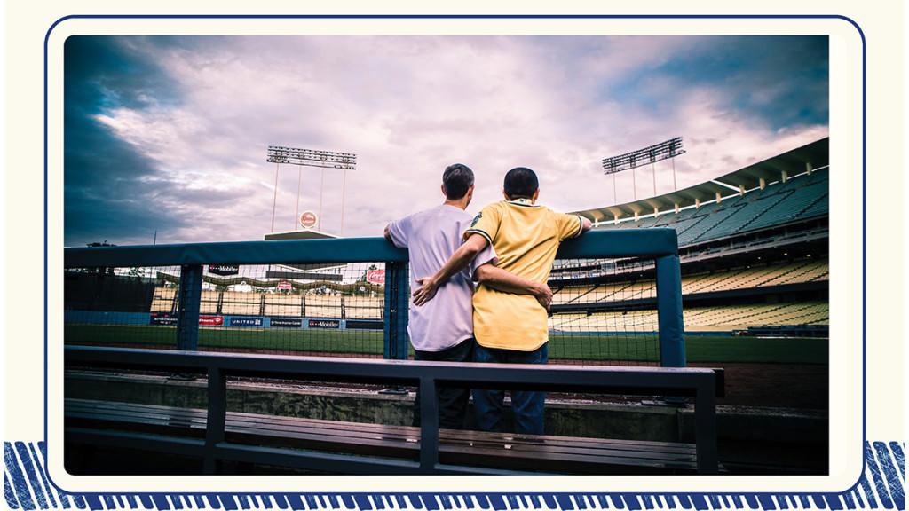 Dodger stadium engagement 10