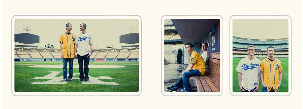 Dodger stadium engagement 12