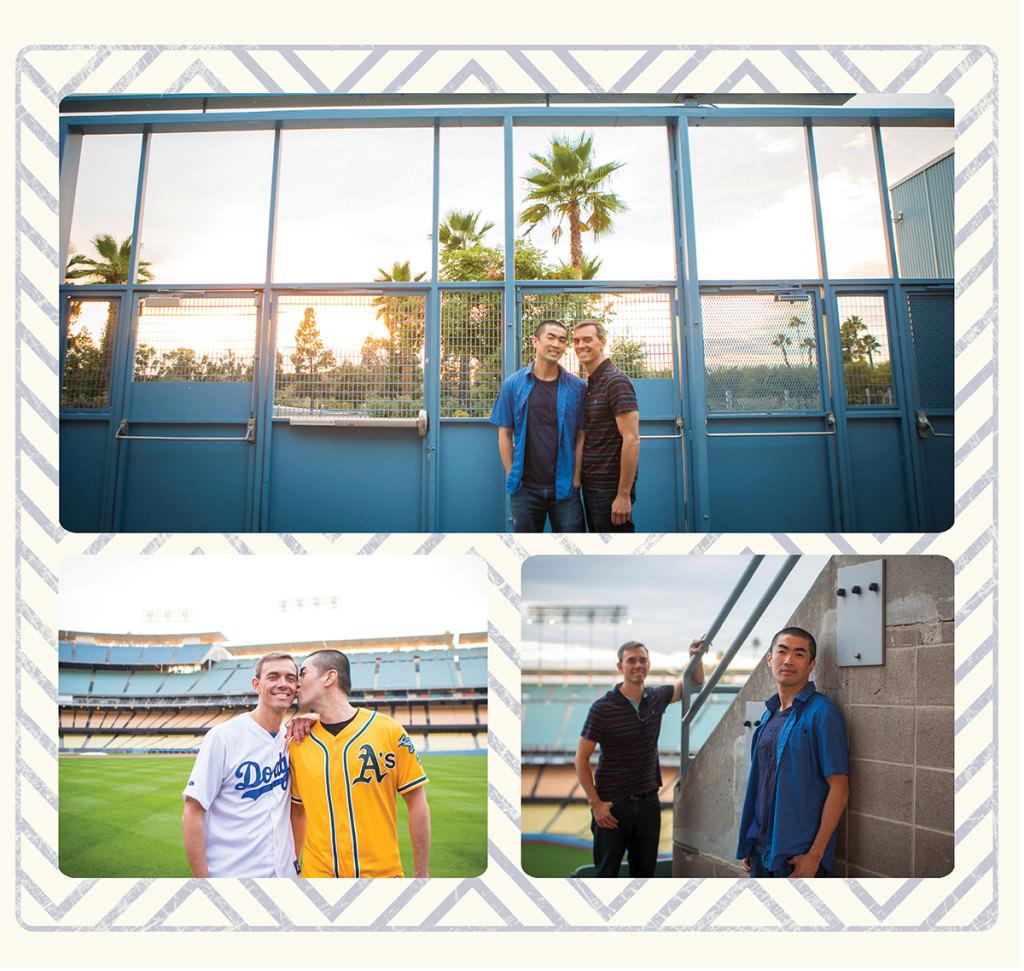 Dodger stadium engagement 13