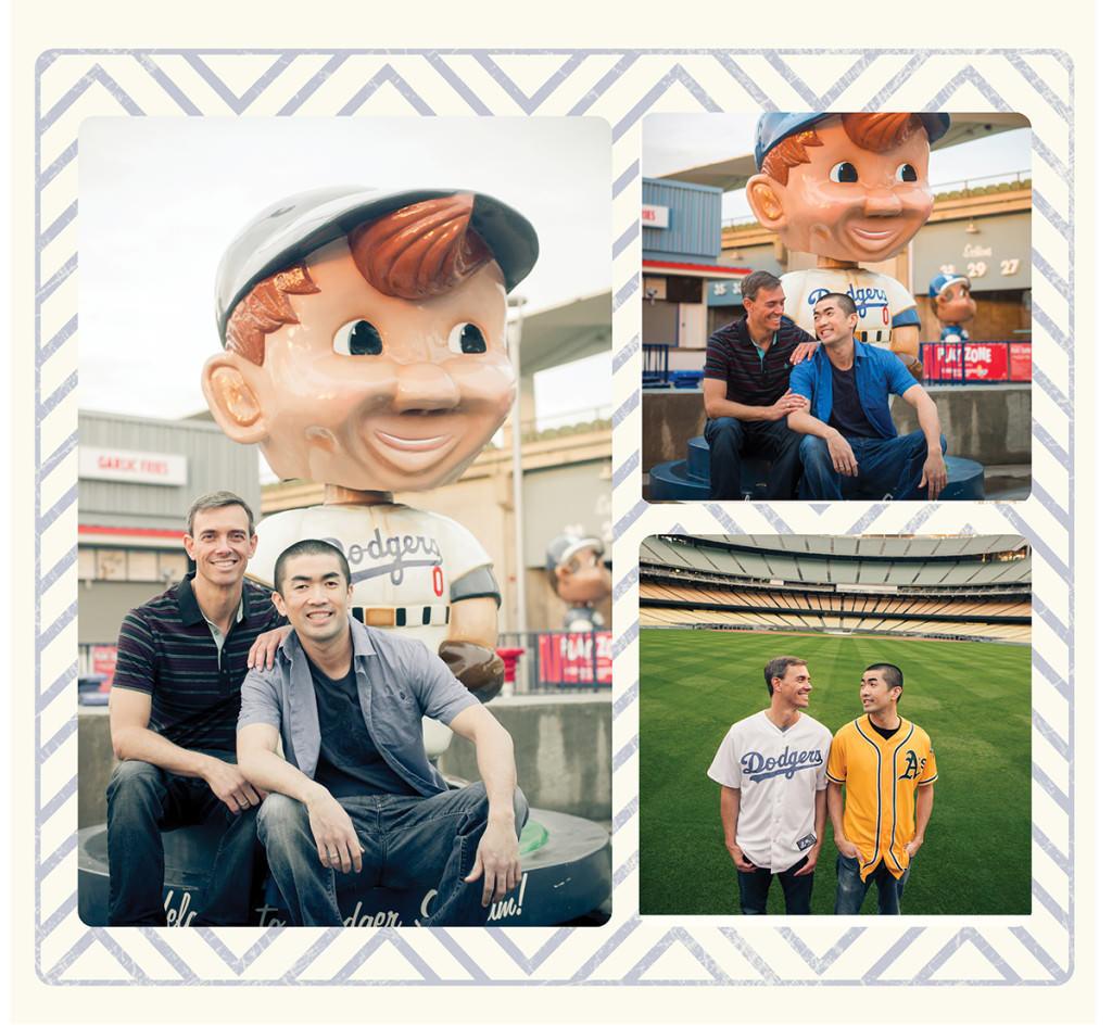 Dodger stadium engagement 14