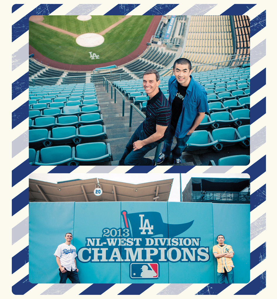 Dodger stadium engagement 3