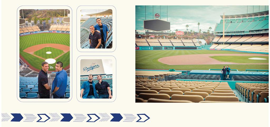 Dodger stadium engagement 4