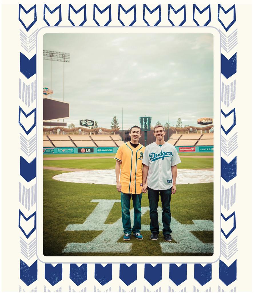Dodger stadium engagement 5