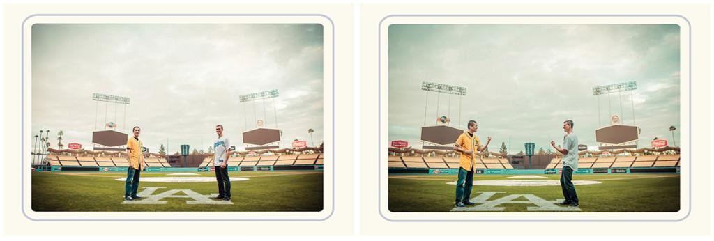 Dodger stadium engagement 6