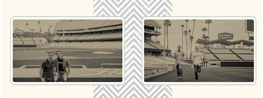 Dodger stadium engagement 8