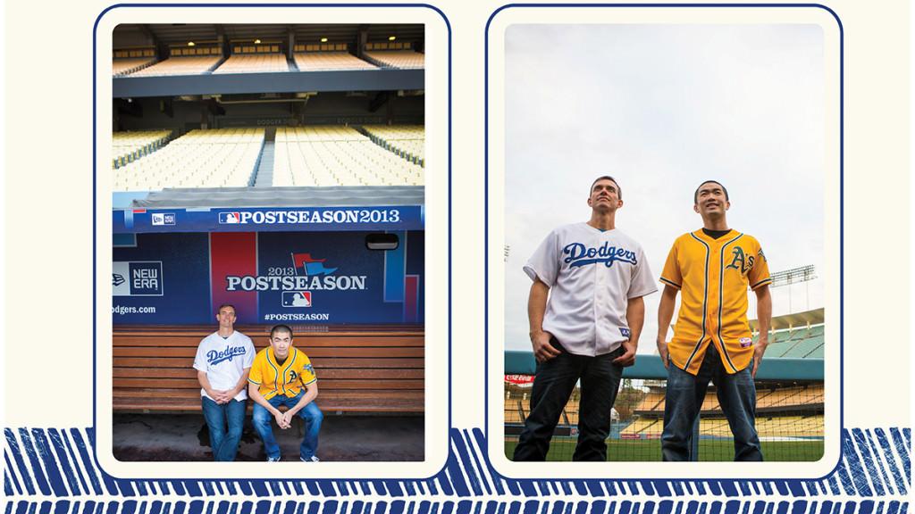 Dodger stadium engagement 9