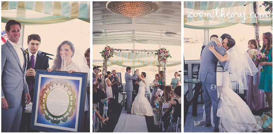 jewish fantasea yatchs marina del rey wedding 9