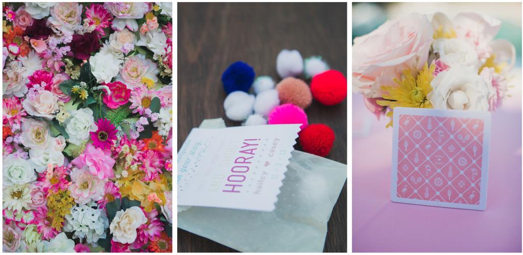 Colorful DIY Palm Springs Wedding 12