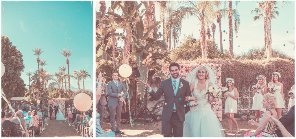 Colorful DIY Palm Springs Wedding 14