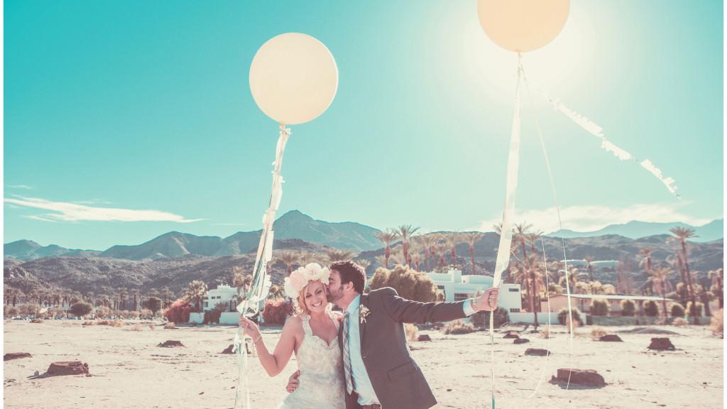 Colorful DIY Palm Springs Wedding 15