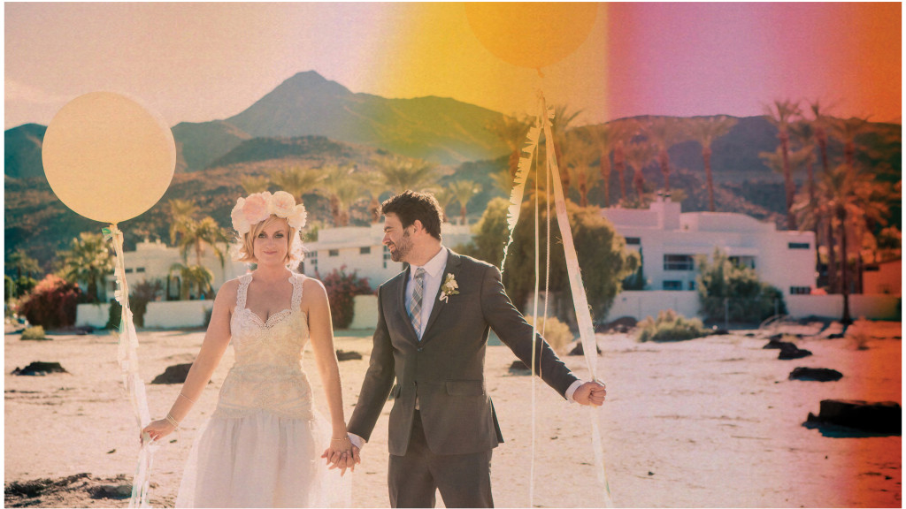 Colorful DIY Palm Springs Wedding 17