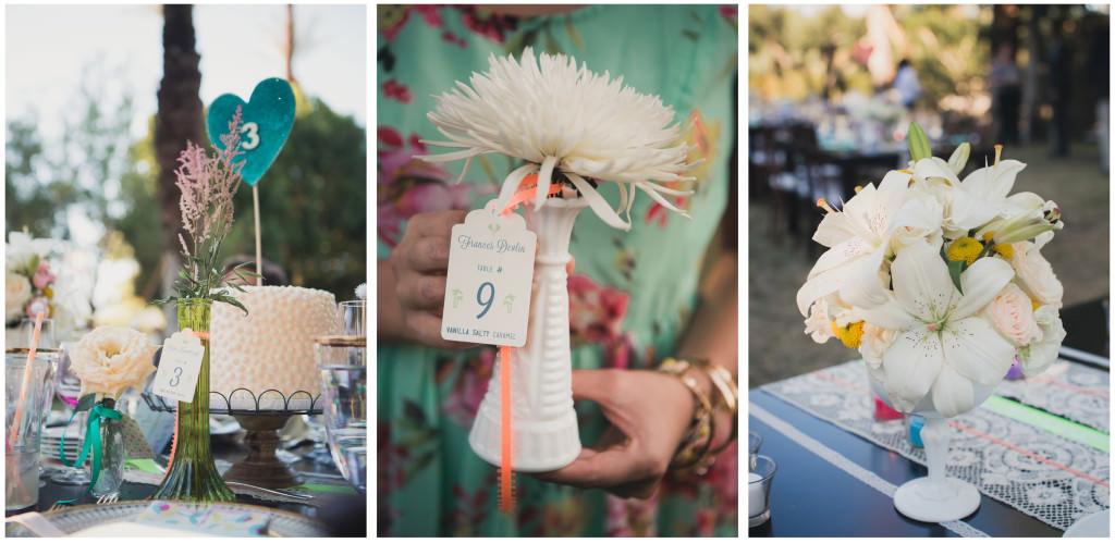 Colorful DIY Palm Springs Wedding 22