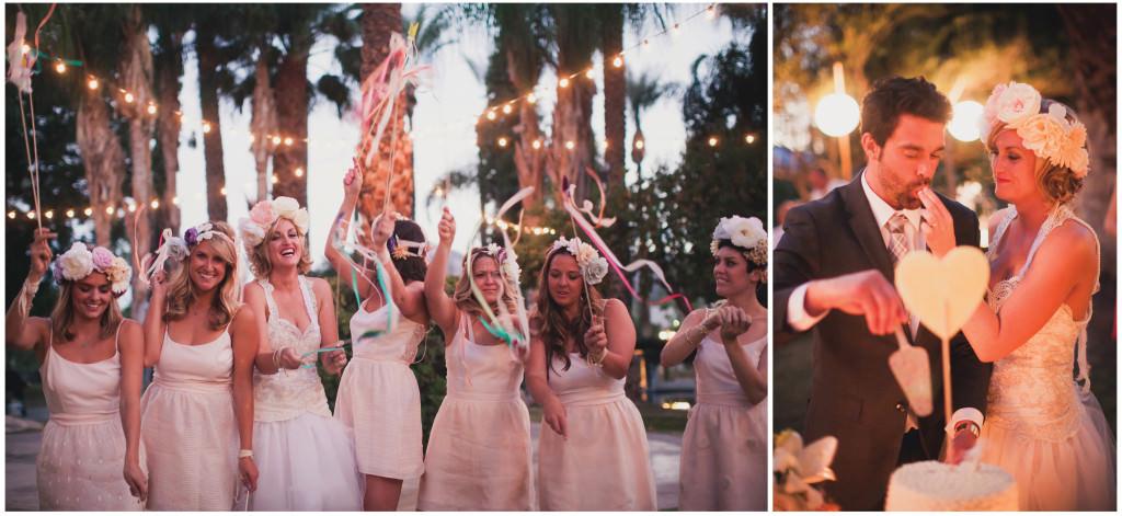 Colorful DIY Palm Springs Wedding 24