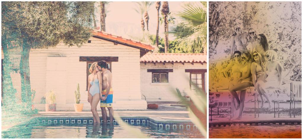 Colorful DIY Palm Springs Wedding 3
