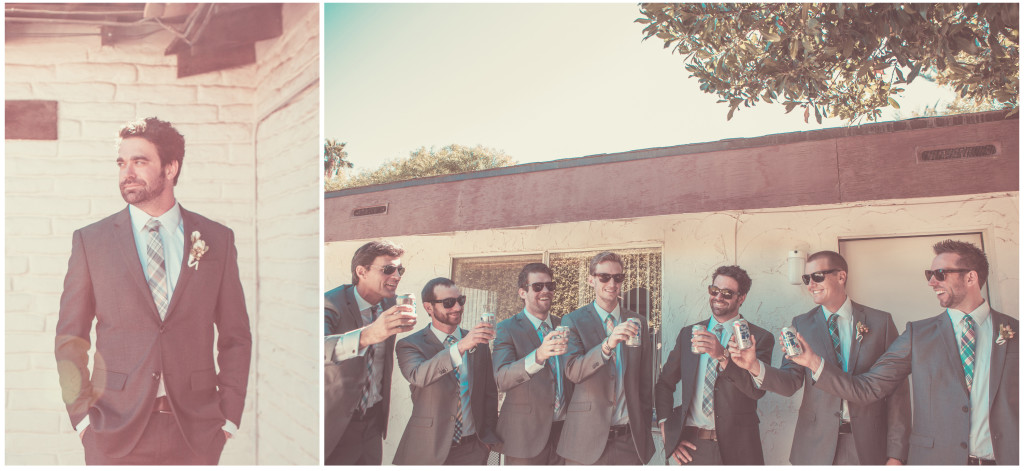 Colorful DIY Palm Springs Wedding 6