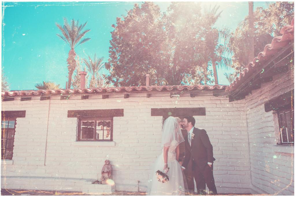 Colorful DIY Palm Springs Wedding 8