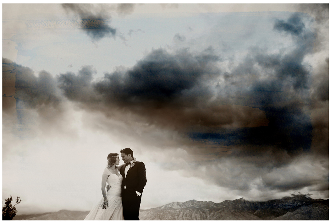 Palm Springs Cree Estate Wedding Zoom Theory 34