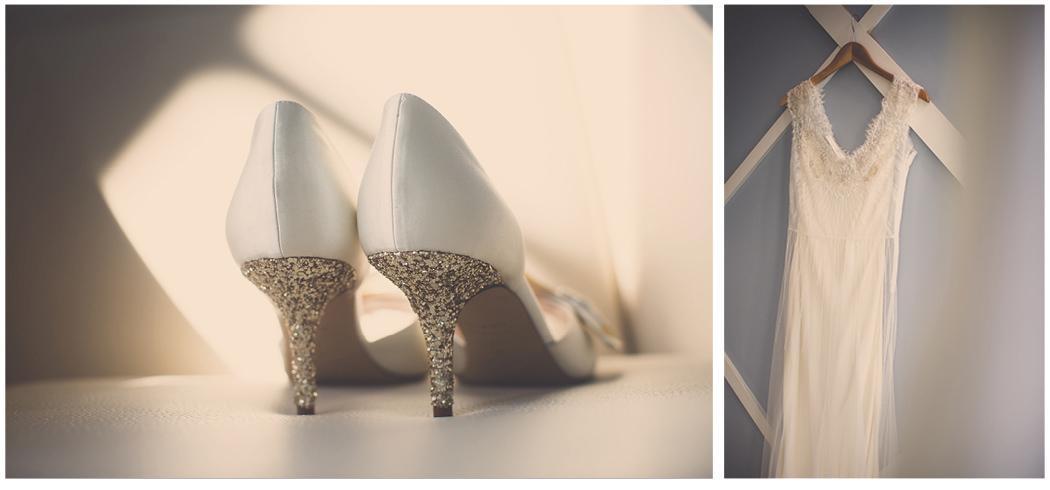 Kate Spade Glitter Heels | Sarah Janks Dress | Zoom Theory