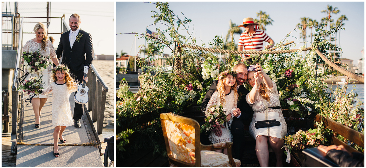 Zoom Theory Elopement | Long Beach Gondola Getaway