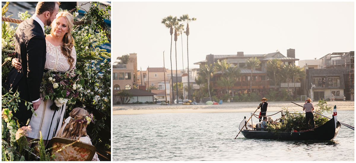 Zoom Theory Wedding | Long Beach Gondola Getaway