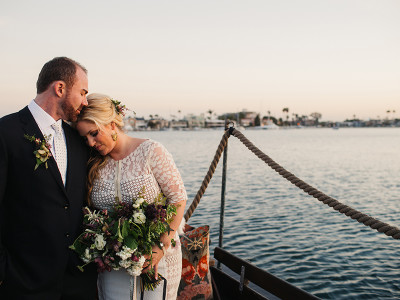 Long Beach Gondola Wedding