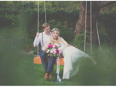 Intimate Backyard Wedding | Malibu