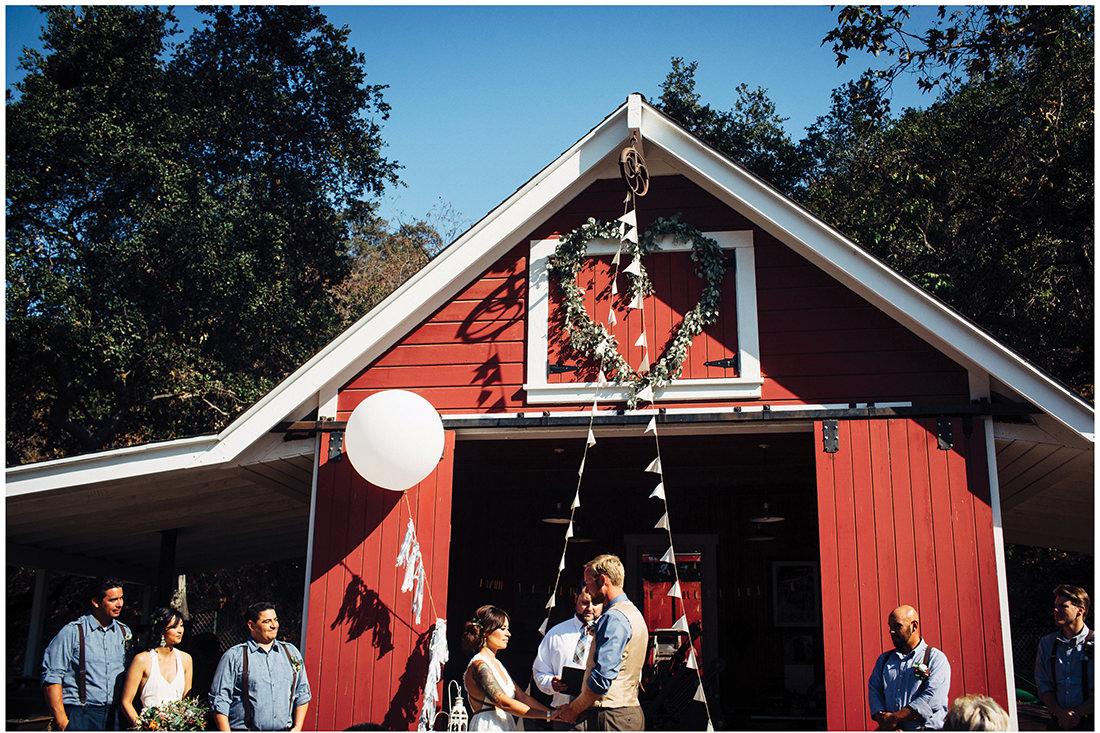 hamilton house red barn orange county wedding14