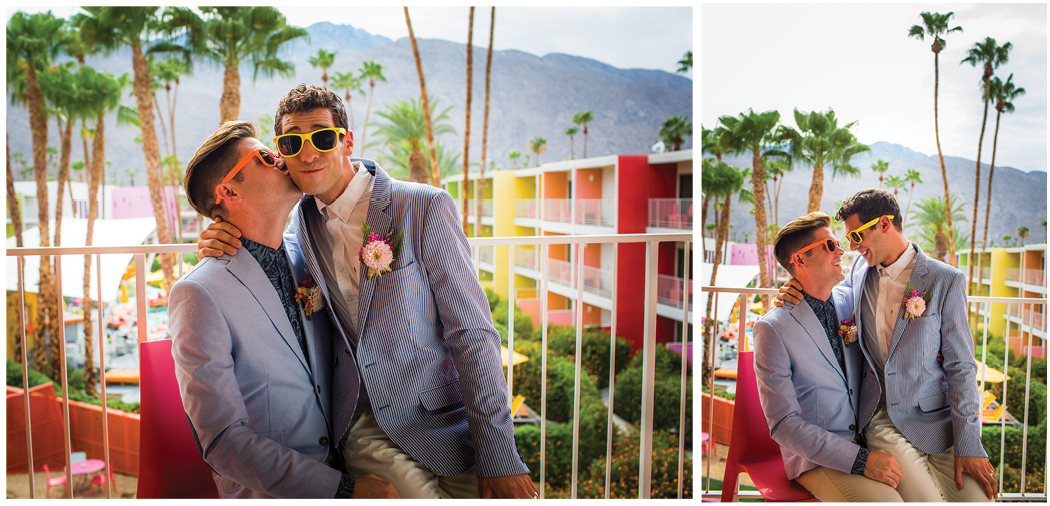 Saguaro Palm Springs Gay Wedding Zoom Theory11
