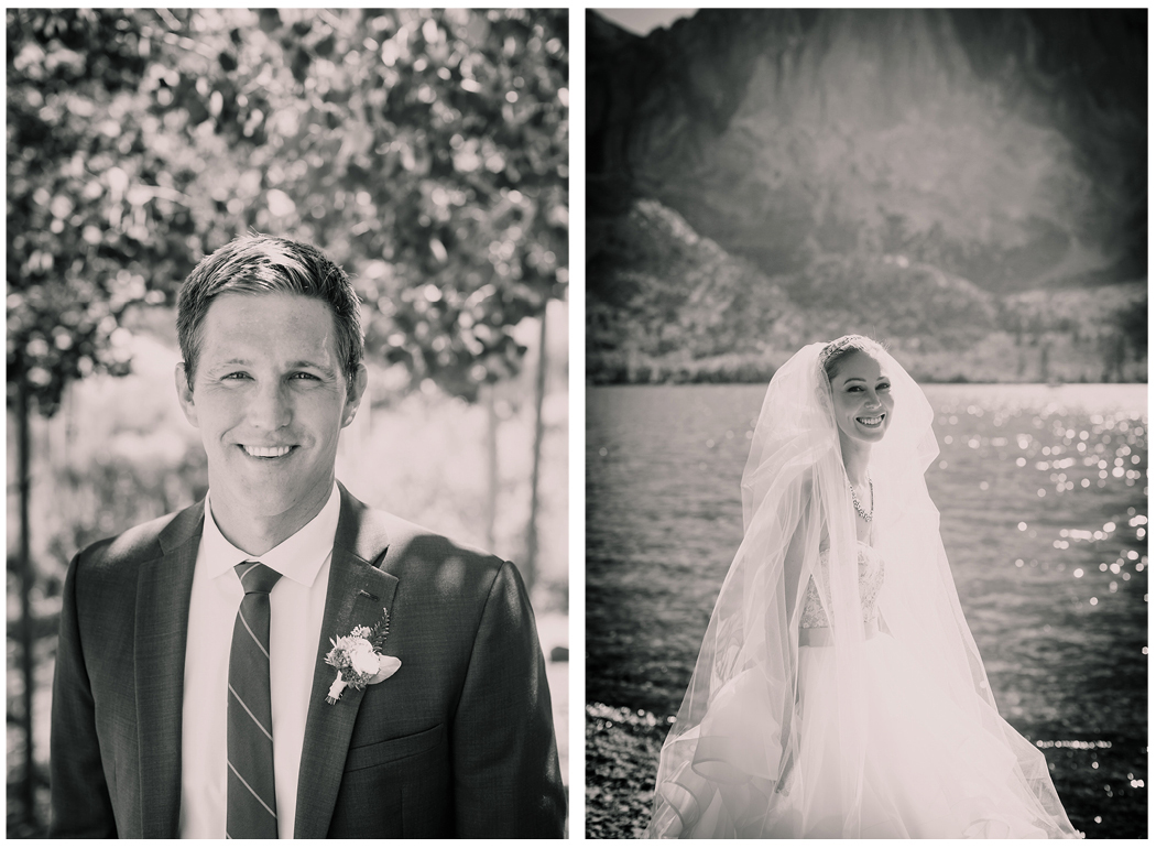 Convict Lake Mammoth mountain wedding zoom theory 5