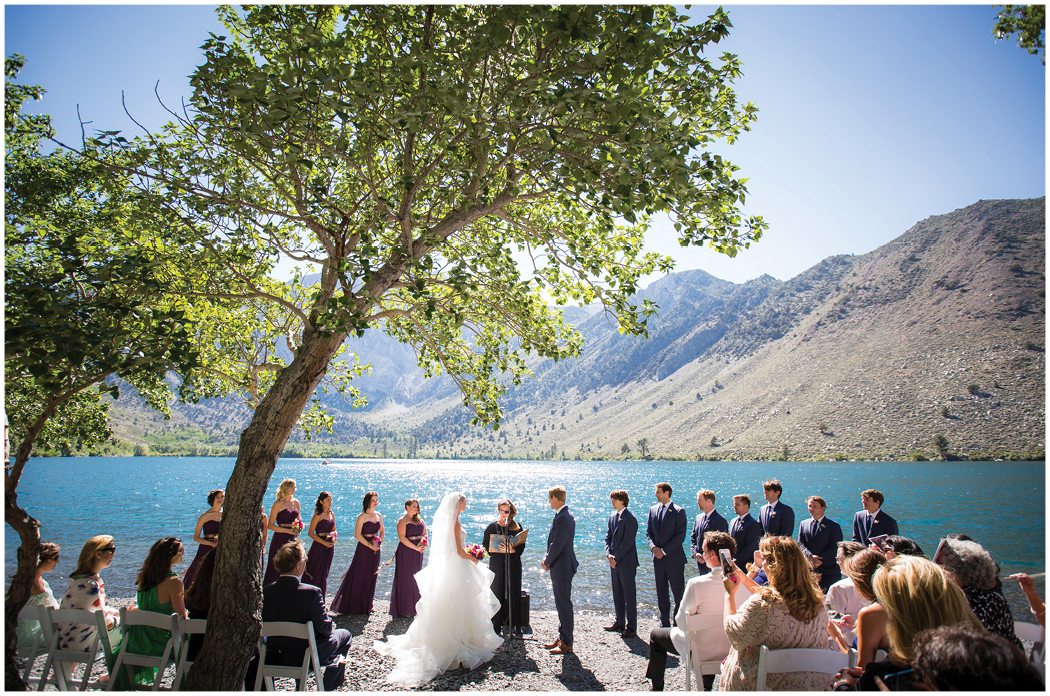 Convict Lake Mammoth mountain wedding zoom theory 7