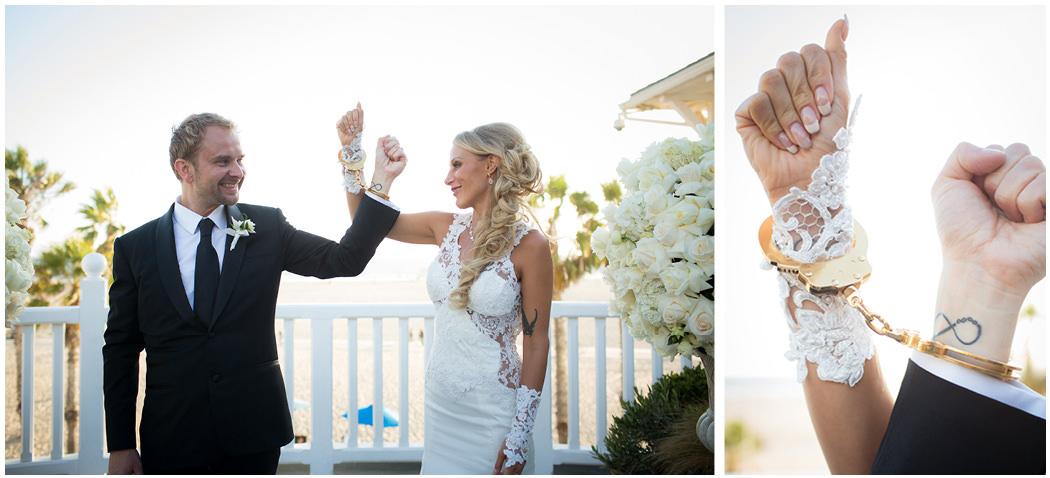 Shutters Santa Monica Blush Alternative Wedding 14
