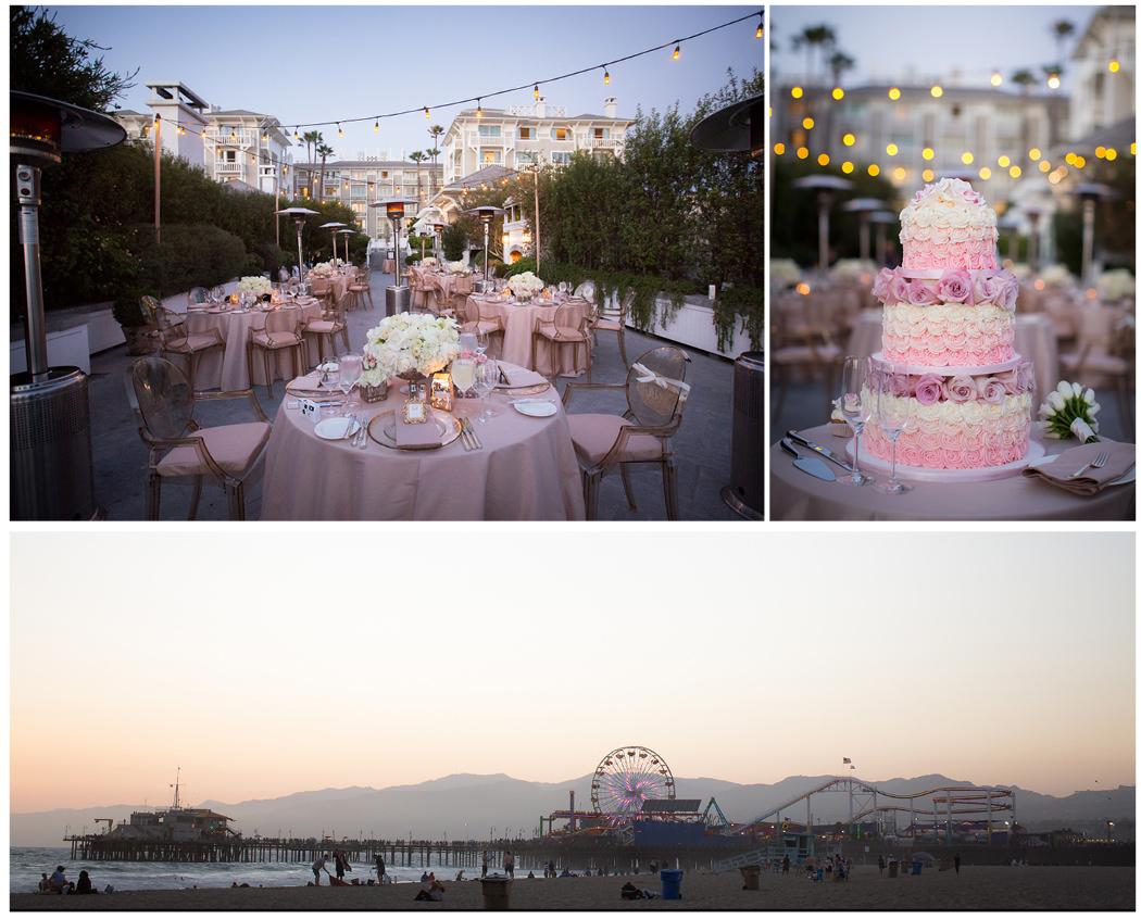 Shutters Santa Monica Blush Alternative Wedding 22