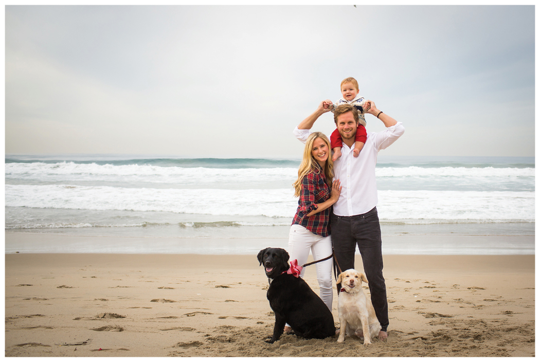 redondo beach christmas portraits - Beach Christmas Pictures