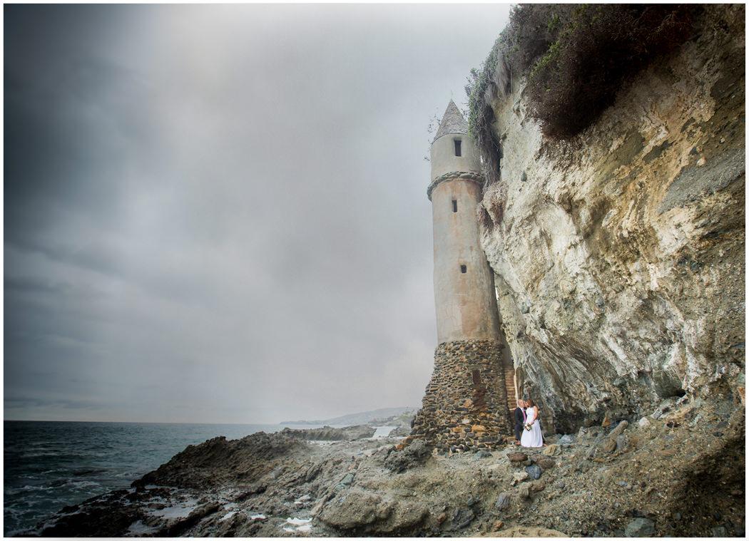 Laguna Beach Elopement Castle Zoom Theory15
