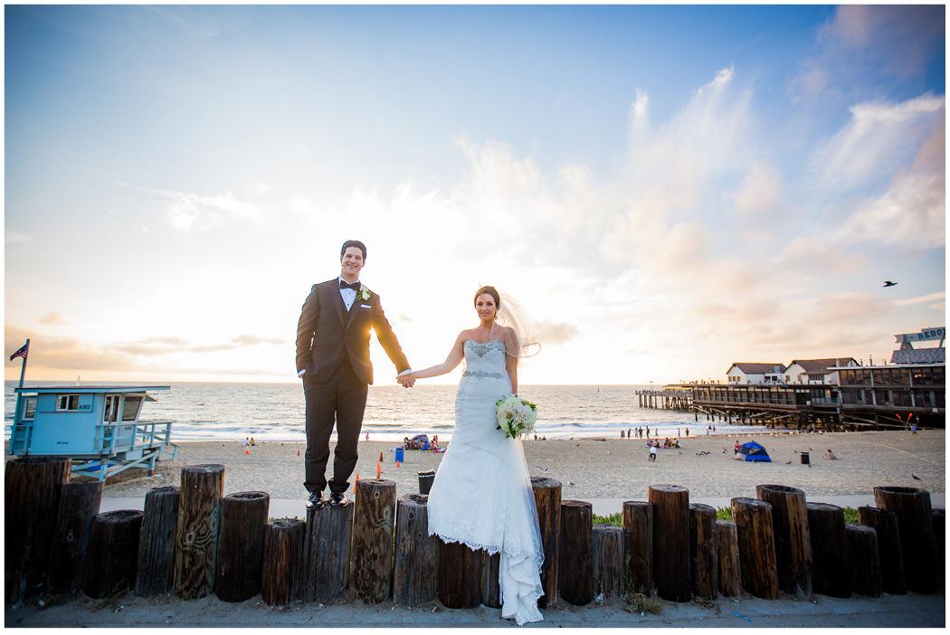 Redondo Beach Historic Library Wedding Zoom Theory 16