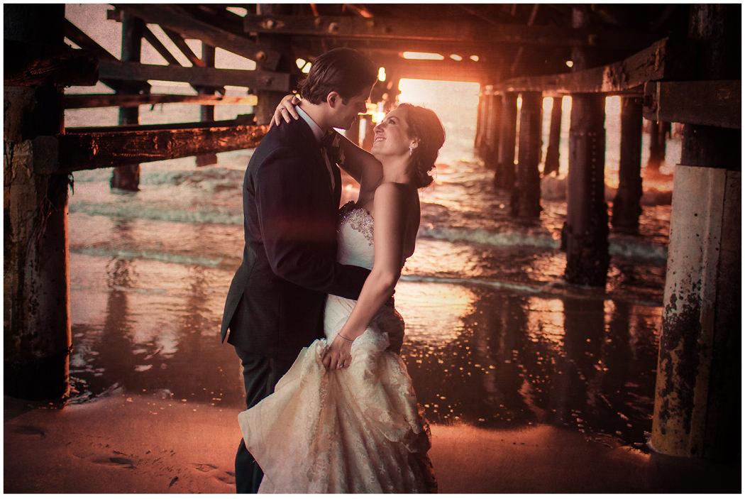 Redondo Beach Historic Library Wedding Zoom Theory 26