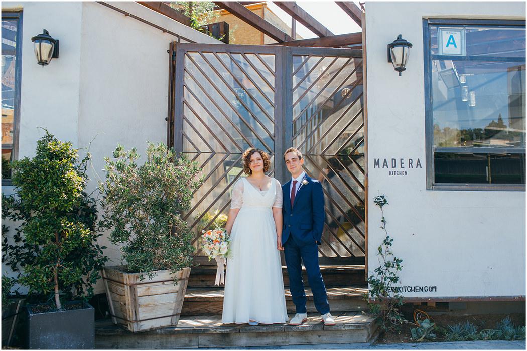 Madera Kitchen Wedding 9