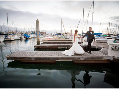 Shade Redondo Beach Wedding
