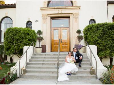 Redondo Beach Historic Library Wedding